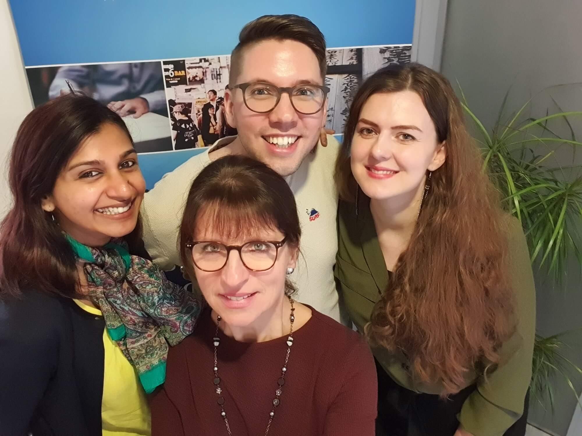 Das Team der Sprachenschule Siegerland